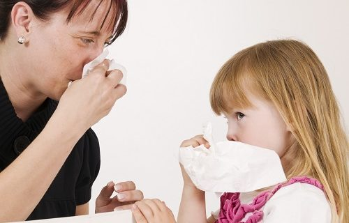 How to clear a blocked nose